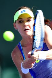 Agnieszka Radwanska - BNP Paribas Open in Indian Wells 3/16/2016
