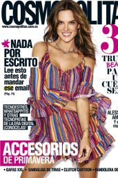 Alessandra Ambrosio - Cosmopolitan Magazine Spain April 2016 Cover and Photos