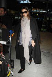 Alessandra Ambrosio - Paris-Charles-de-Gaulle Airport, 3/2/2016