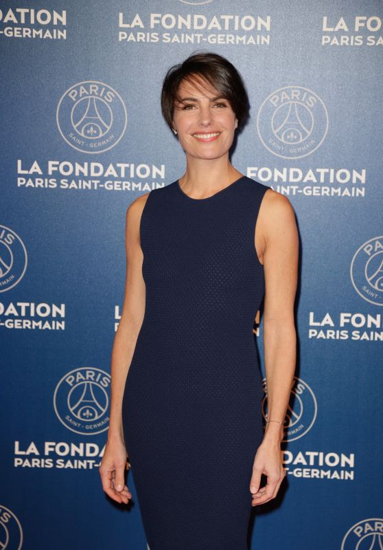 Alessandra Sublet - 2016 Fondation Paris Saint-Germain (PSG) Gala Dinner Place Vendôme, Paris