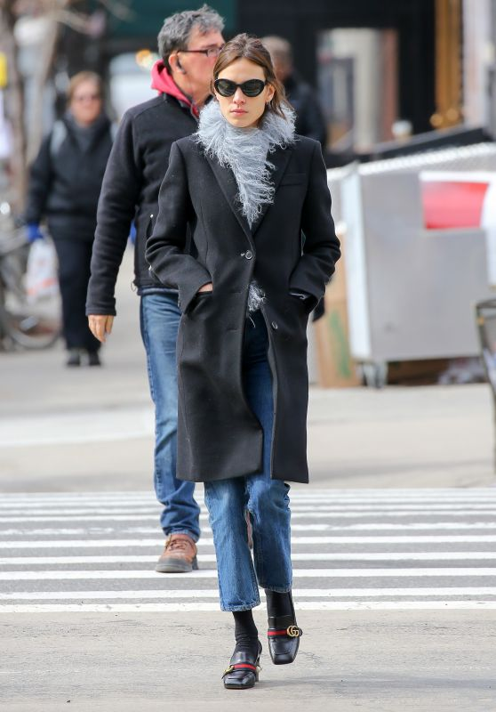 Alexa Chung - Out in NYC, March 2016