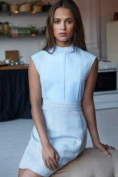 Alicia Vikander - Photoshoot for Marie Claire Magazine March 2016