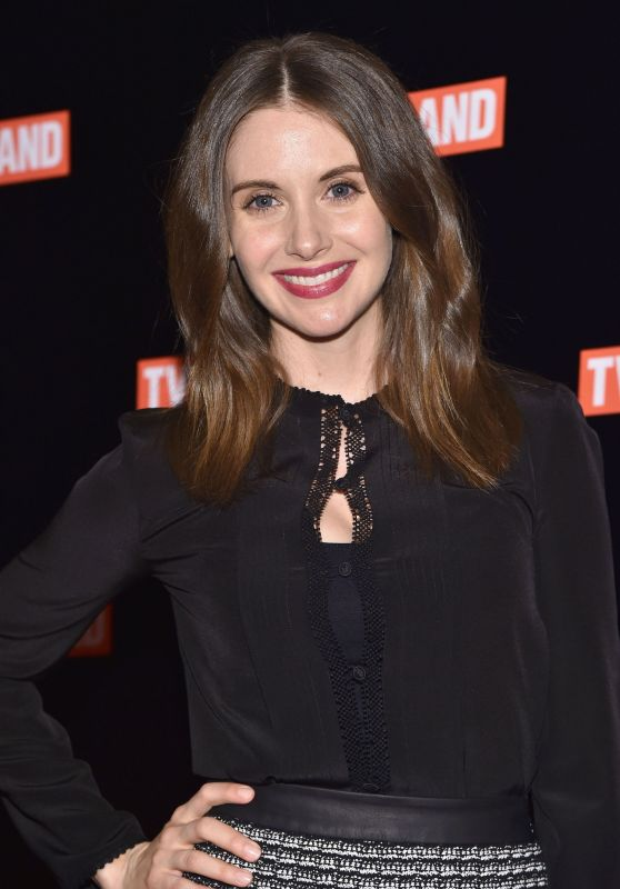 Alison Brie - Nick at Nite, TVLand and CMT Upfront in New York City, NY 3/3/2016