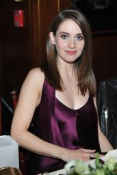 Alison Brie - THR and Jimmy Choo