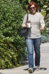 Alyson Hannigan - Out in Los Angeles 3/18/2016