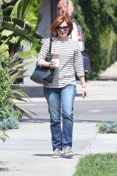 Alyson Hannigan - Out in Los Angeles 3/18/2016