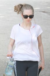 Amanda Seyfried - Out With Finn in Los Angeles 3/19/2016