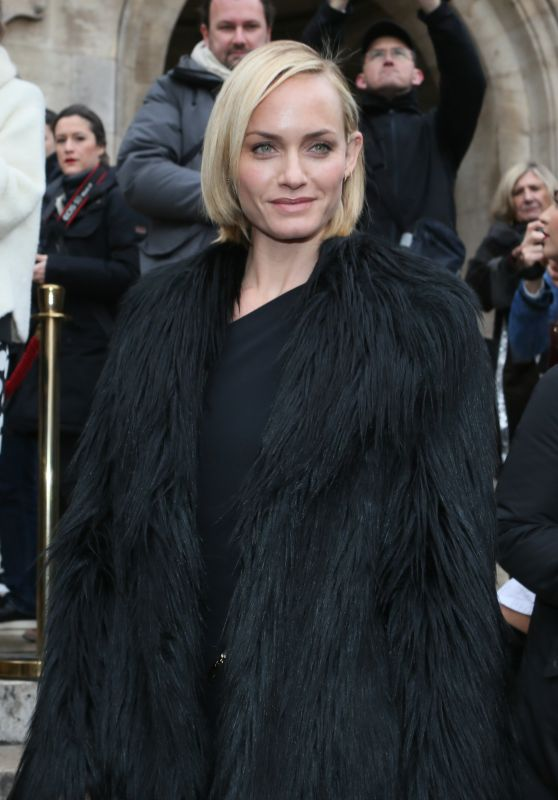 Amber Valletta - Stella McCartney Fashion Show in Paris 3/7/2016