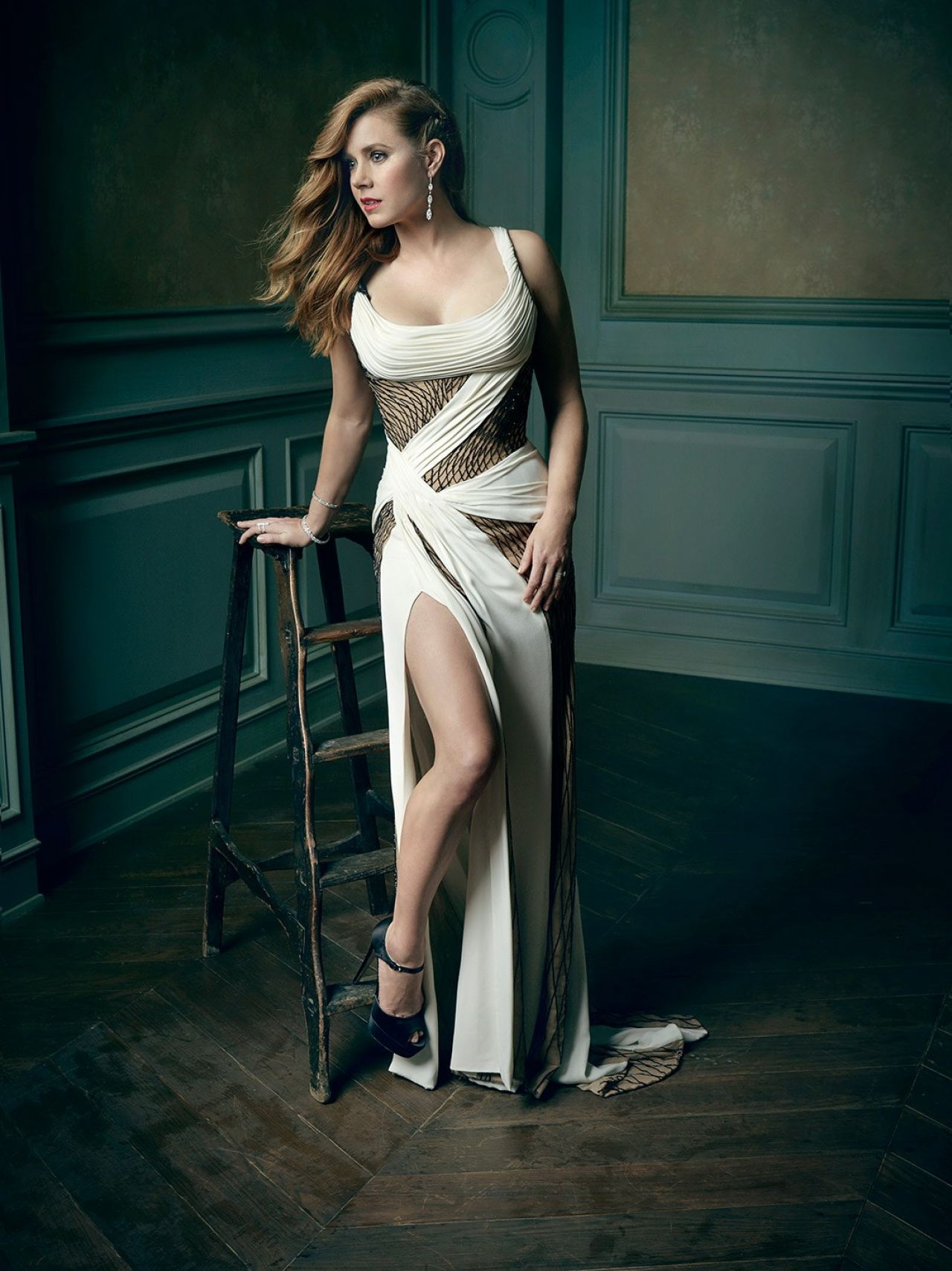 Amy Adams – 2016 Vanity Fair Oscar Party Portrait Amy Adams