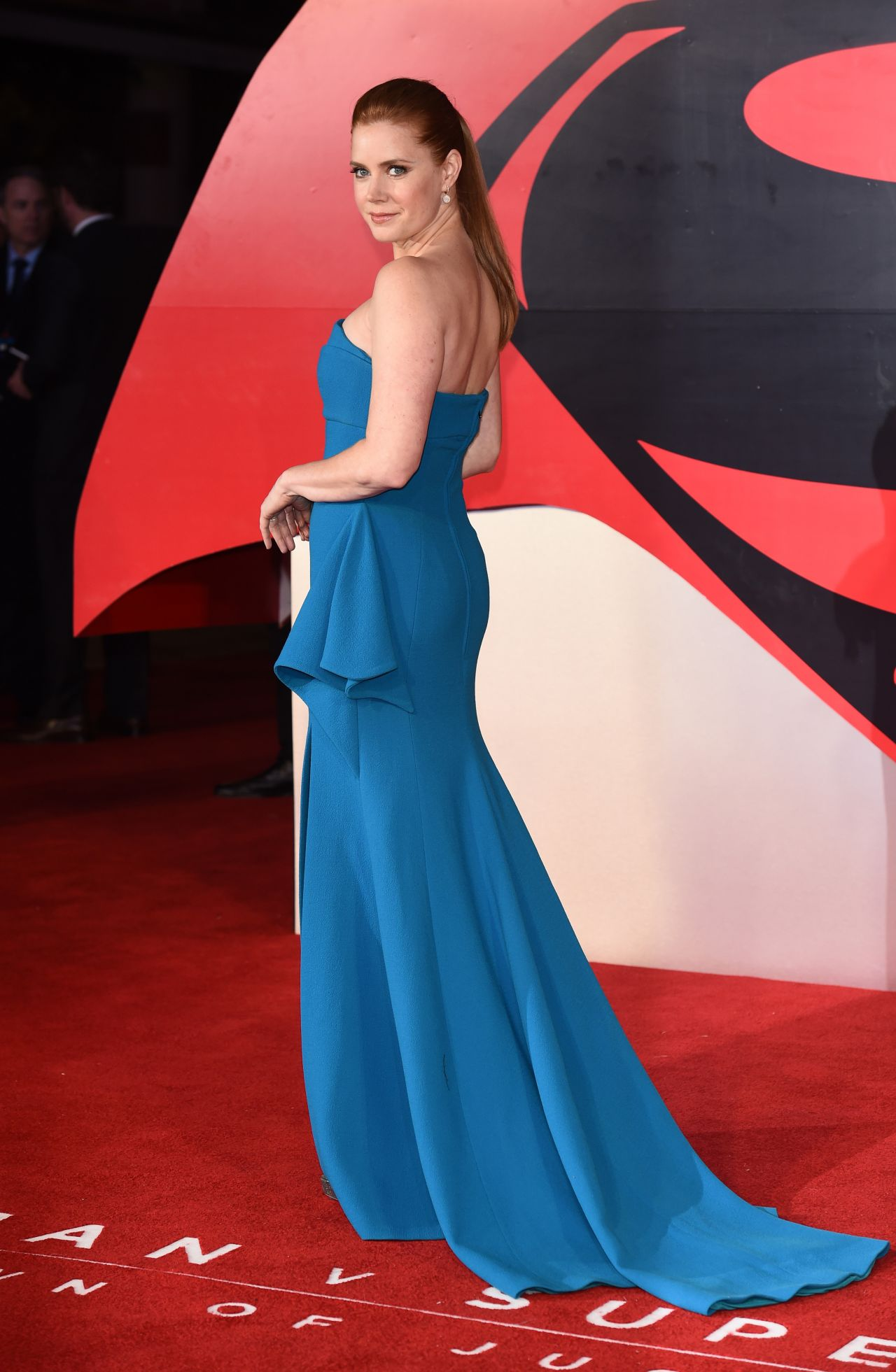 Amy Adams Batman V Superman Dawn Of Justice Premiere