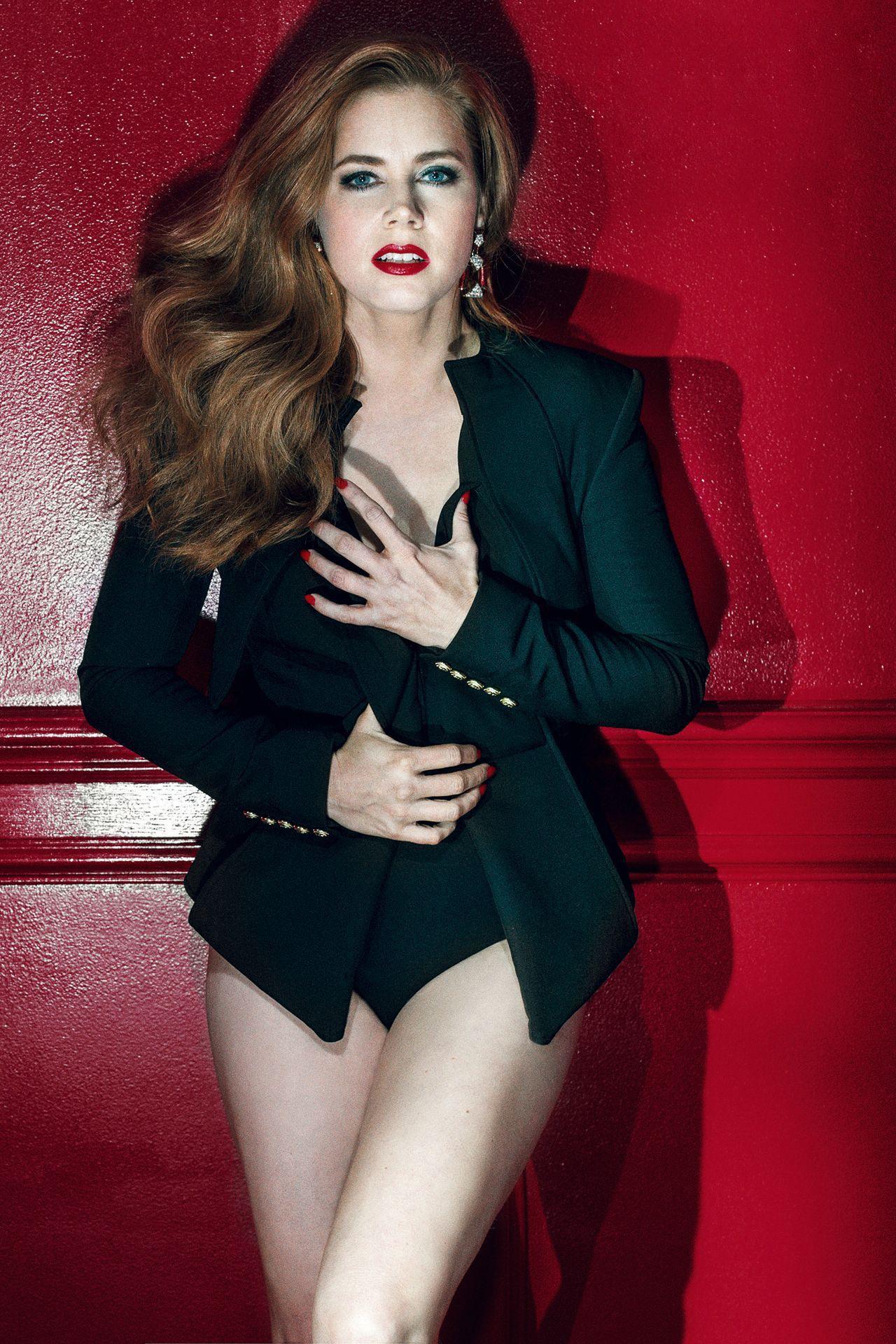 Amy Adams - Gq Magazine Uk - April 2016 Issue-2489