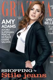 Amy Adams - Grazia Magazine March 2016 Issue