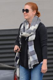 Amy Adams - Shops in Beverly Hills 3/14/2016