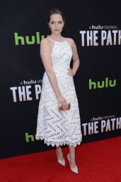 Amy Forsyth – 'The Path' Premiere in Hollywood