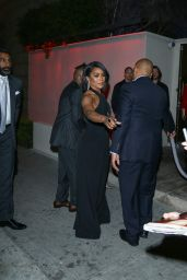 Angela Bassett at Boulevard 3 Nightclub in Los Angeles, March 2016