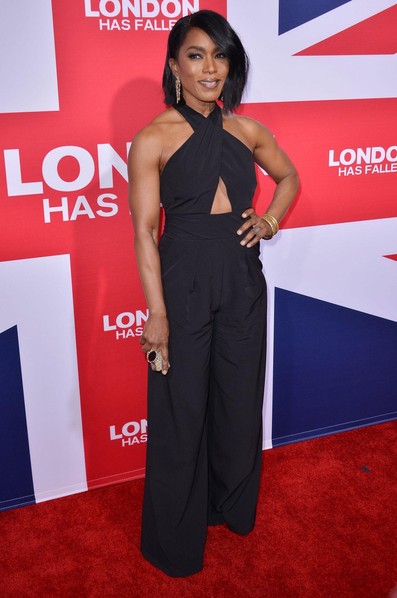 Angela Bassett London Has Fallen Premiere In Hollywood