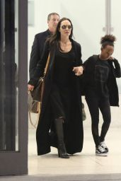 Angelina Jolie at LAX Airport, 3/2/2016