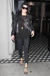 Angie Harmon Night Out Style - at Craig