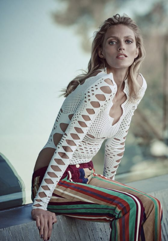 Anja Rubik - Photoshoot for Viva! Moda Magazine 2016