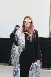 Anna Dello Russo at Celine Fashion Show Fall/Winter 2016-2017 in Paris 3/6/2016
