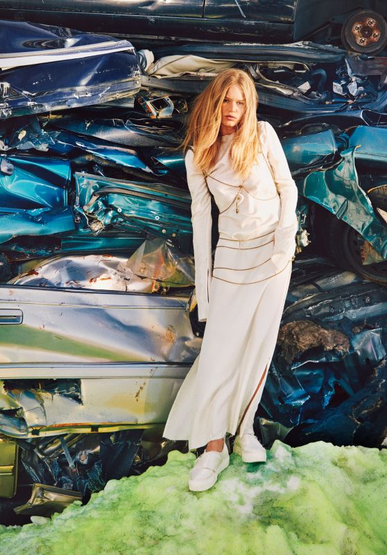 Anna Ewers - Photoshoot for W Magazine April 2016