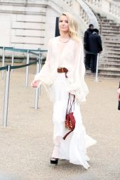 Annabelle Wallis at Chloe Show – Paris Fashion Week Womenswear Fall/Winter 2016/2017
