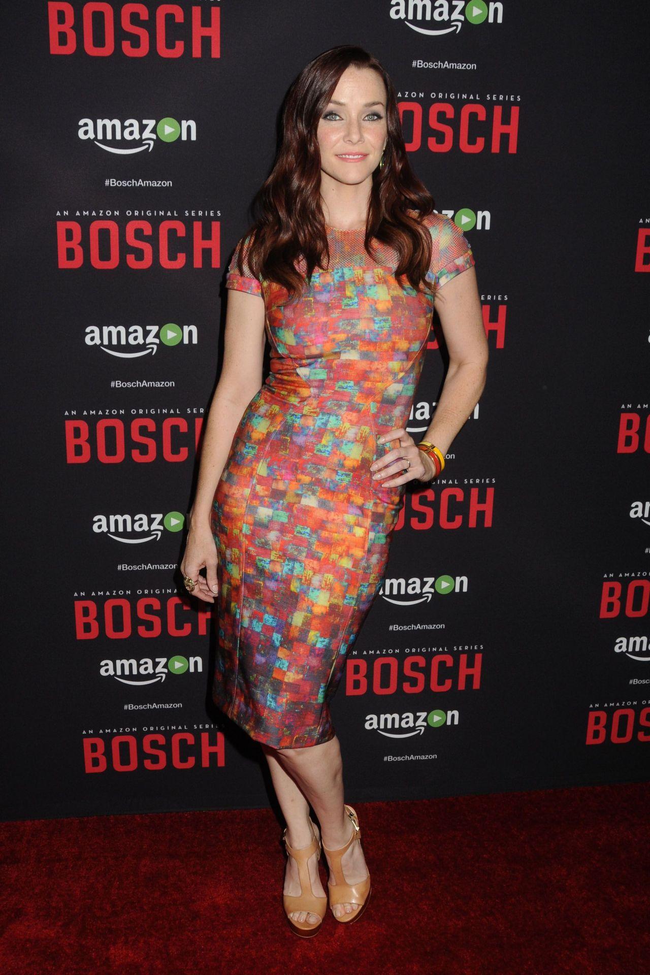 Annie Wersching Bosch Season 2 Premiere In West Hollywood
