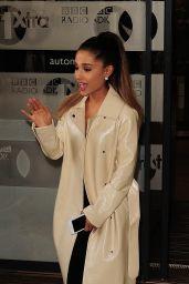 Ariana Grande at BBC Radio 1 Studios in London, UK 3/30/2016