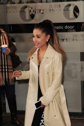 Ariana Grande at BBC Radio 1 Studios in London, UK 3/30/2016