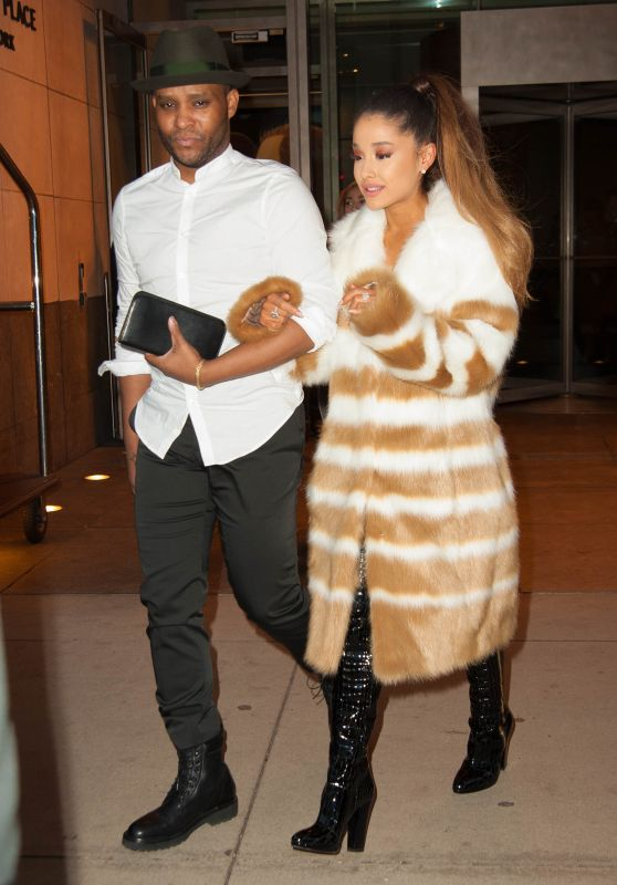 Ariana Grande - Leaving Her Hotel in New York City 3/15/2016