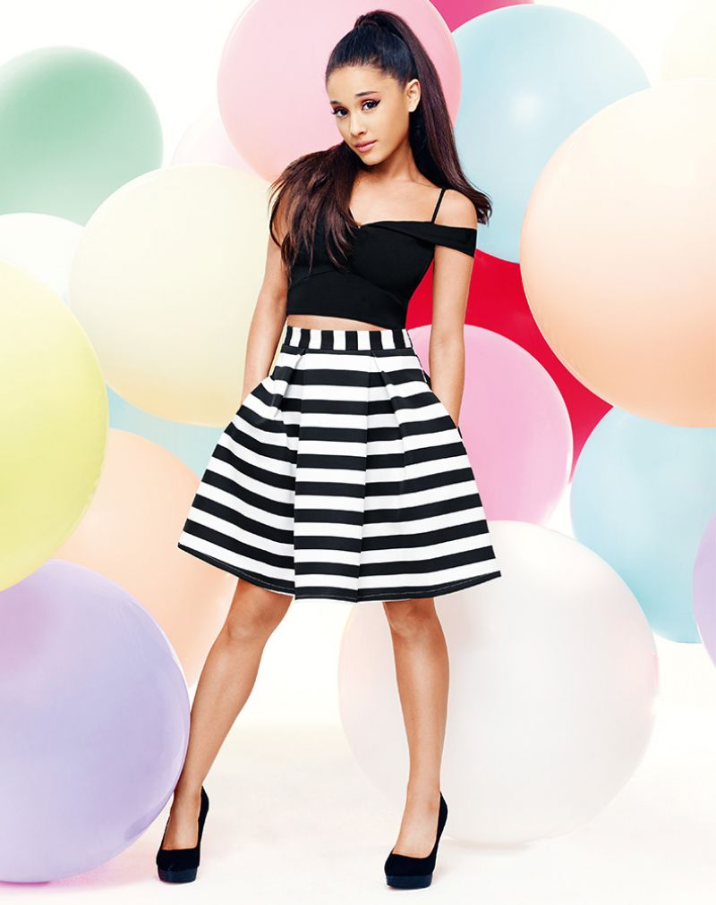 Ariana Grande  Look Magazine UK Photos  February 2016 - Ariana Grande Hairstyles