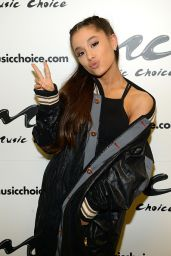 Ariana Grande - Music Choice in New York City, March 2016