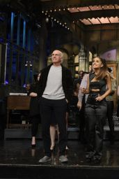 Ariana Grande Performs at Saturday Night Live, March 2016