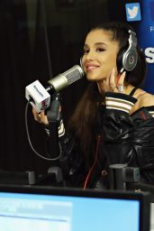 Ariana Grande - Visits the SiriusXM Studios in New York City, March 2016