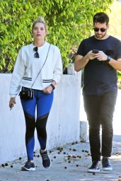 Ashley Benson in Spandex - Out in Melrose Place 3/8/2016