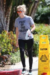 Ashley Benson in Spandex - Out in West Hollywood 3/28/2016