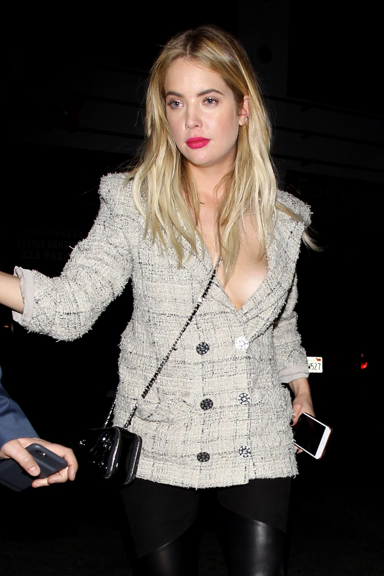 Ashley Benson Night Out Style – Hollywood 2/29/2016