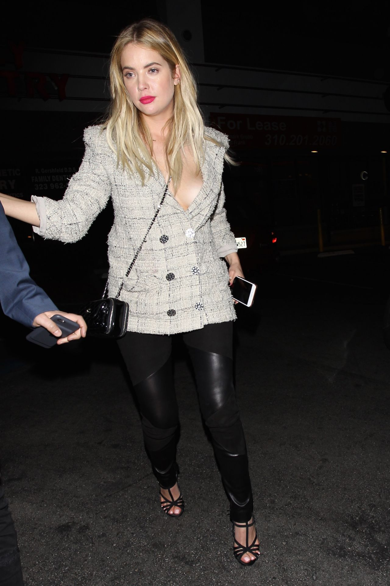 ashley benson night out style hollywood 2292016