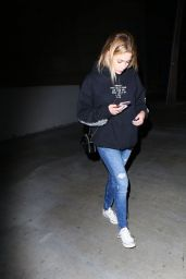 Ashley Benson - Outside of Justin Bieber