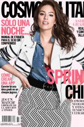 Ashley Graham - Cosmopolitan Magazine Mexico April 2016 Issue