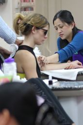 Ashley Greene Goes to a Nail Salon in Beverly Hills, March 2016