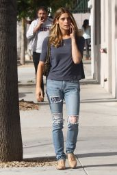Ashley Greene in Ripped Jeans - Out in Studio City, 3/9/2016