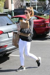 Ashley Greene - Starts Her Week Off With Grocery Shopping in Beverly Hills 3/28/2016