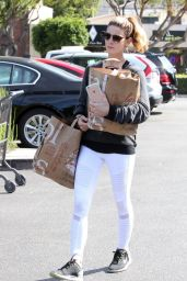 Ashley Greene Street Style - Outside Bristol Farms in Beverly Hills 3/28/2016