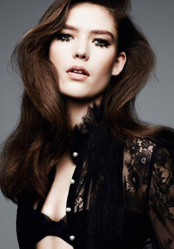 Astrid Holler - Photoshoot for Vogue Magazine Paris April 2016