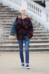 Aymeline Valade at Chloe Show – Paris Fashion Week Womenswear Fall/Winter 2016/2017