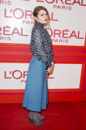 Béatrice Martin – L'Oreal Red Obsession Party – Paris Fashion Week 3/8/2016