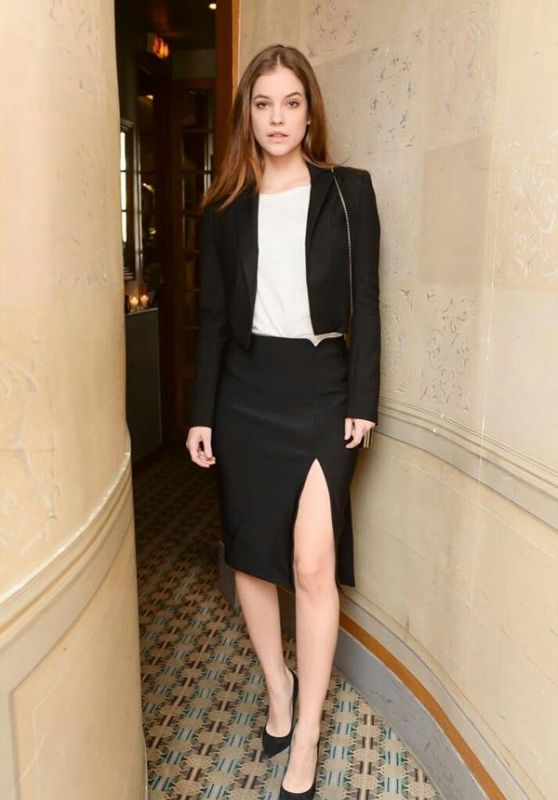 Barbara Palvin at the Frame Denim & Lara Stone Dinner in Paris, 03/05/2016
