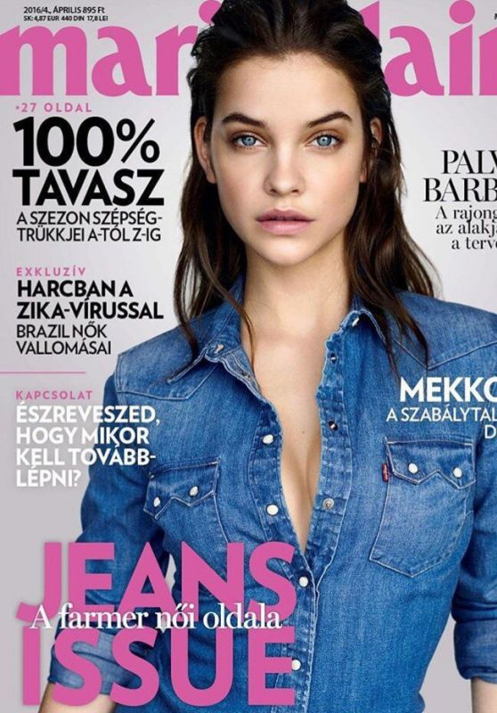 Barbara Palvin - Marie Claire Magazine Cover - Hungary April, 2016