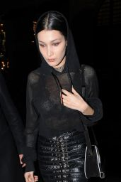 Bella Hadid at Givenchy Show - Paris Fashion Week 3/6/2016